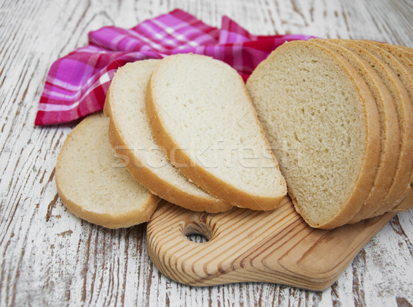 Sliced loaf of bread Stock photo © Es75