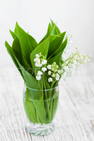 Bouquet lilies of the valley Stock photo © Es75