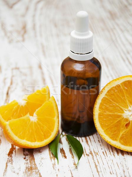 orange essential oil Stock photo © Es75