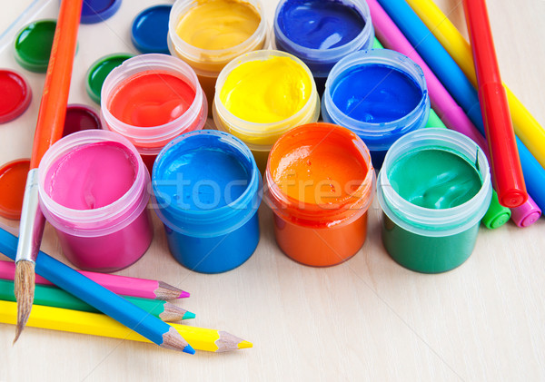 art equipment Stock photo © Es75