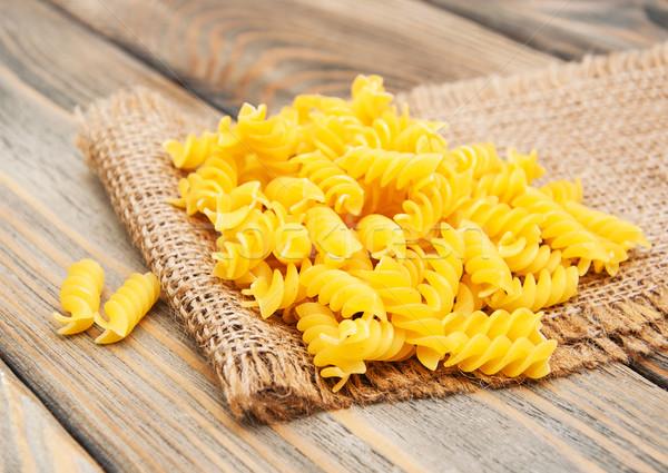 Fusilli pasta Stock photo © Es75