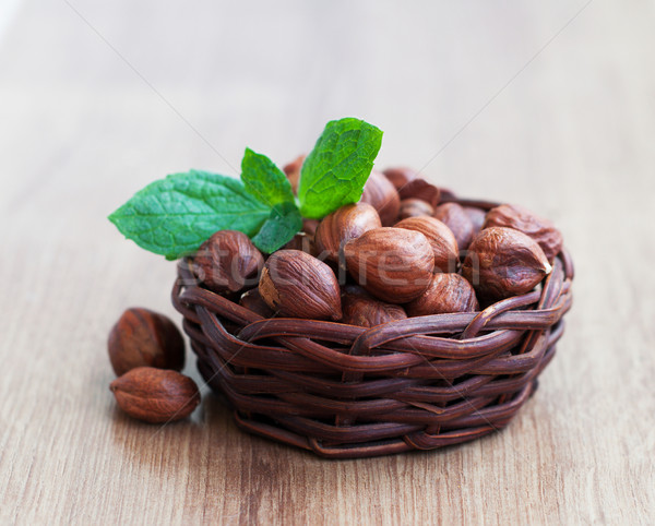 Hazelnuts Stock photo © Es75