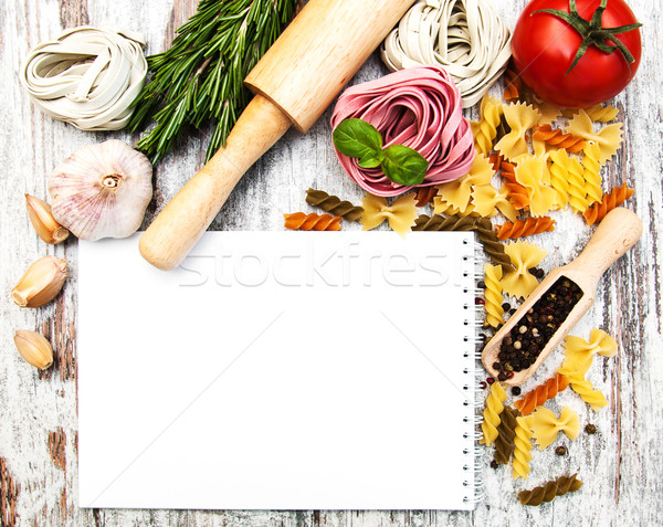 notebook for recipes Stock photo © Es75