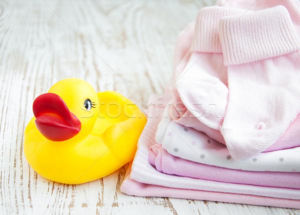 newborn baby clothes Stock photo © Es75
