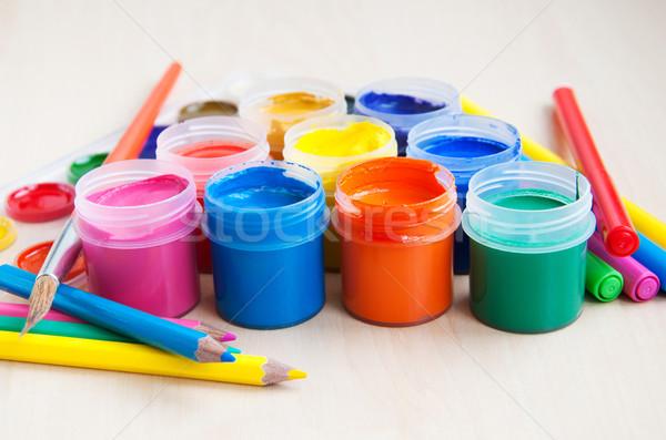 art equipment Stock photo © Es75