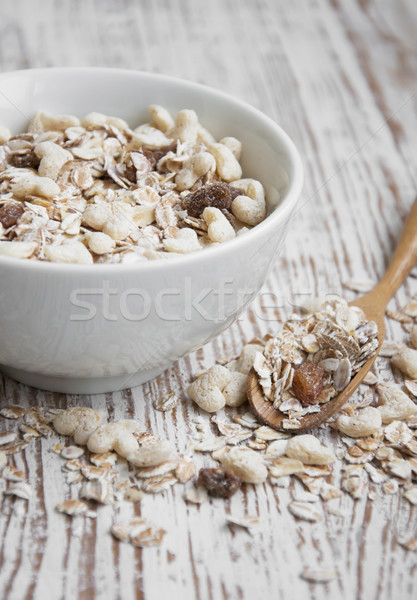 Cereali colazione ciotola alimentare mais Foto d'archivio © Es75