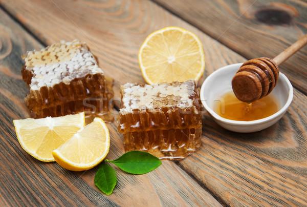 honey and lemon Stock photo © Es75