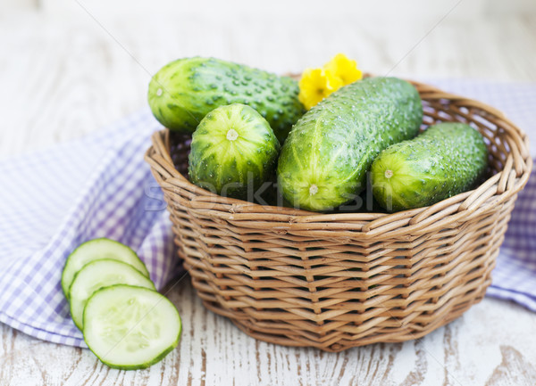 Cucumbers Stock photo © Es75