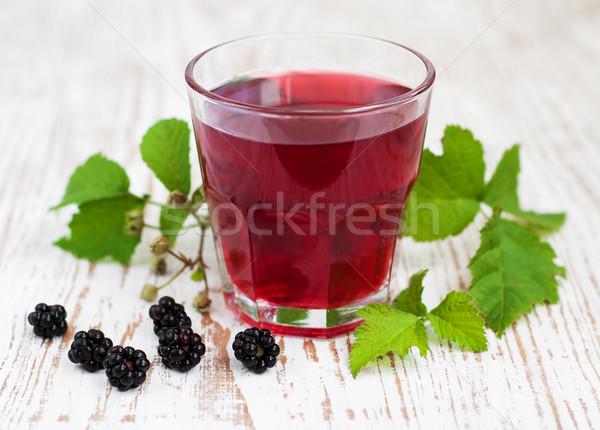 Summer blackberry  drink Stock photo © Es75