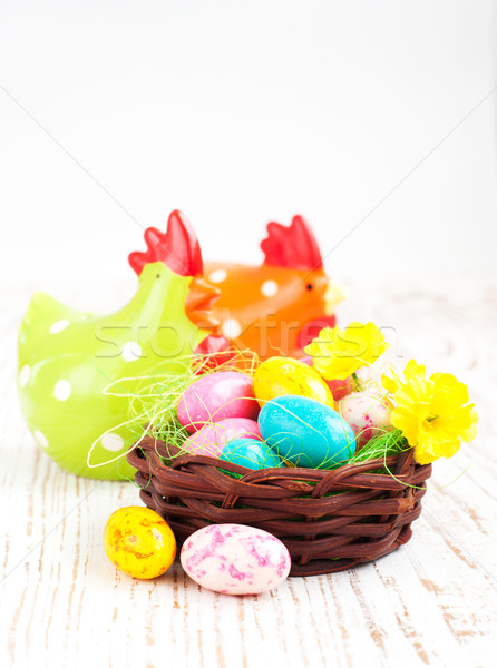 Easter eggs Stock photo © Es75