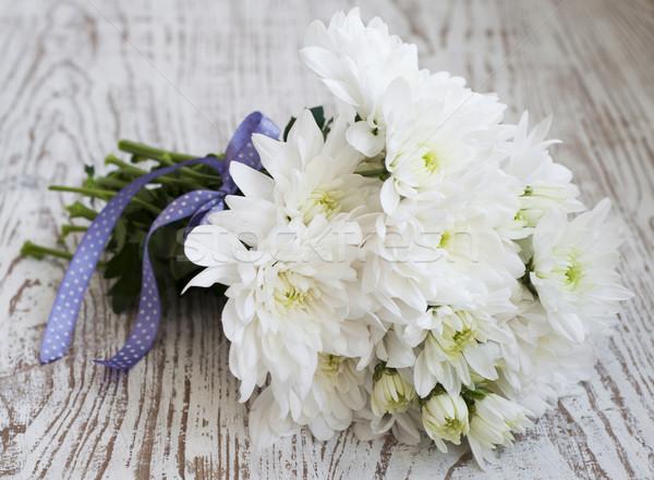 White Chrysanthemum Stock photo © Es75