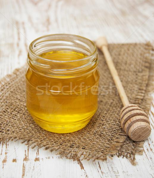 Honey jar Stock photo © Es75