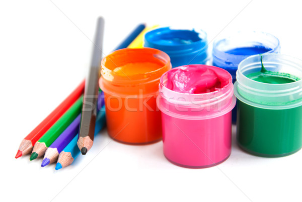 art and craft equipment Stock photo © Es75