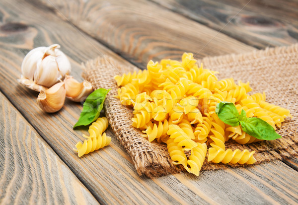 Fusilli pasta Stock photo © Es75