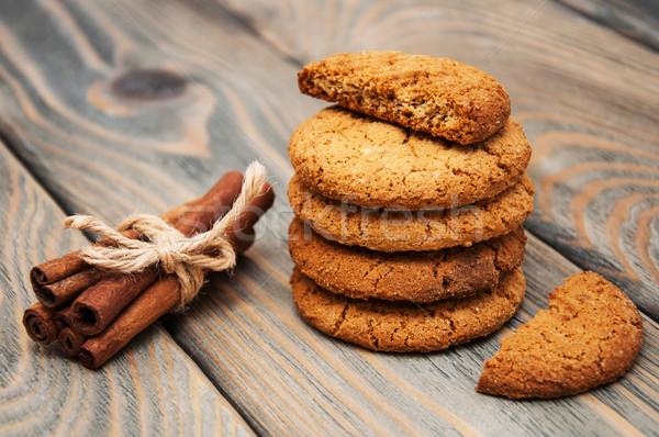 Oatmeal cookies Stock photo © Es75