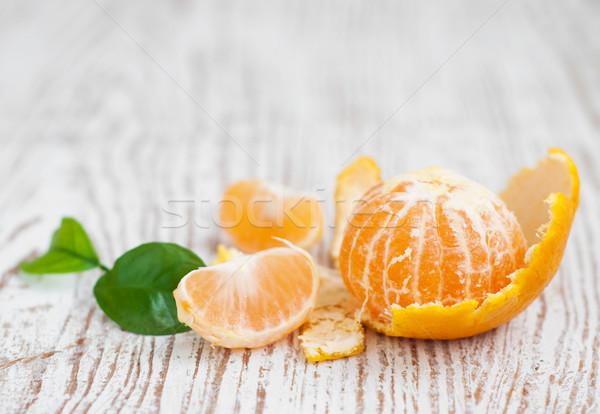 タンジェリン 食品 食べ 健康 明るい オーガニック ストックフォト © Es75