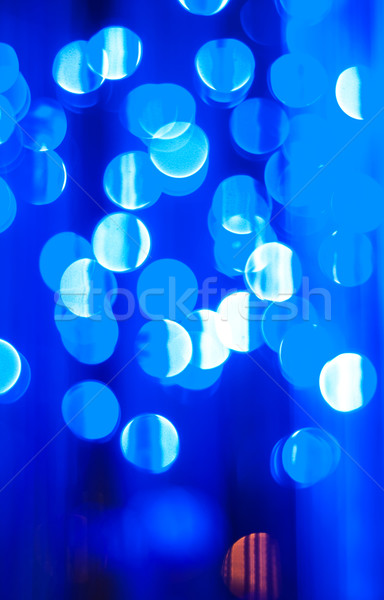 Blu bokeh abstract luci texture Foto d'archivio © Es75