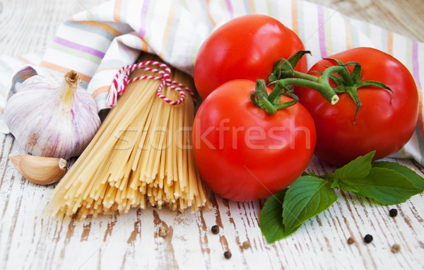 Ингредиенты итальянский еды различный домой приготовленный Сток-фото © Es75