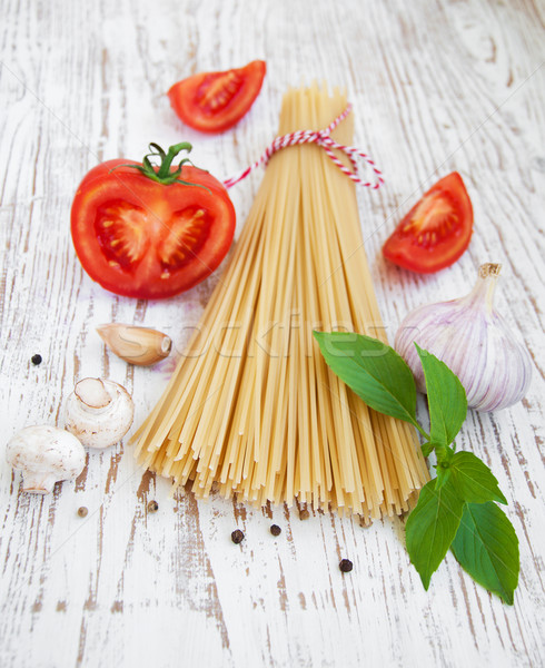 Ingredients for an Italian meal Stock photo © Es75