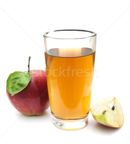 Almalé friss almák fehér étel alma Stock fotó © Es75