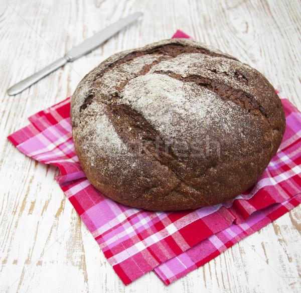 Pão pão rústico natureza cozinha milho Foto stock © Es75
