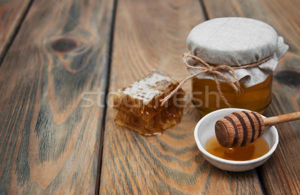 Jar of honey Stock photo © Es75