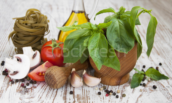 Fresh ingredients for cooking Stock photo © Es75