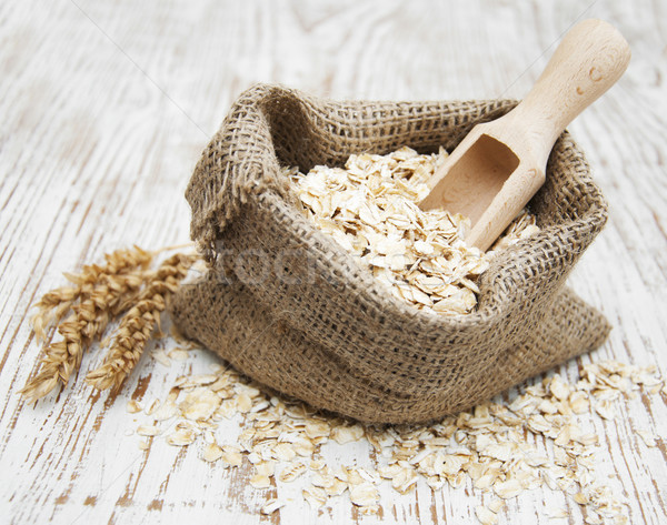 Oat flakes Stock photo © Es75