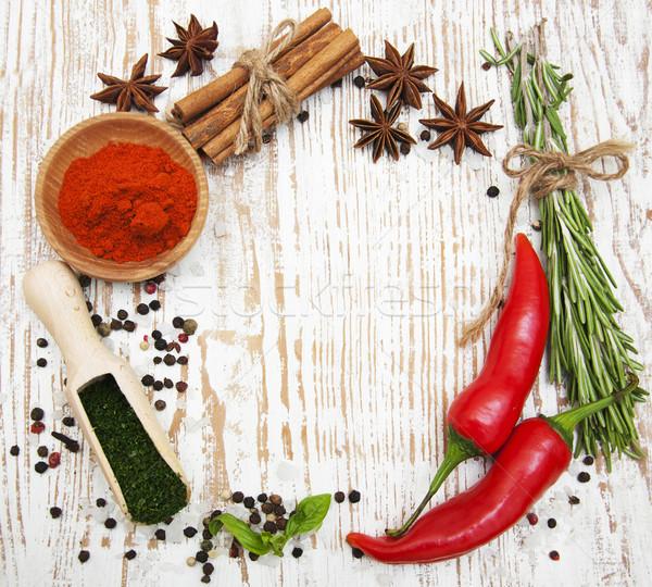 Spices Stock photo © Es75