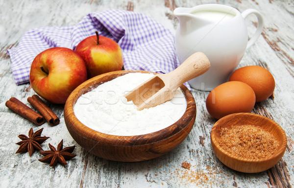 ingredients for apple pie Stock photo © Es75