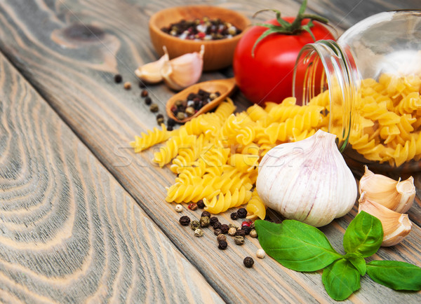 Stock photo: pasta ingredients