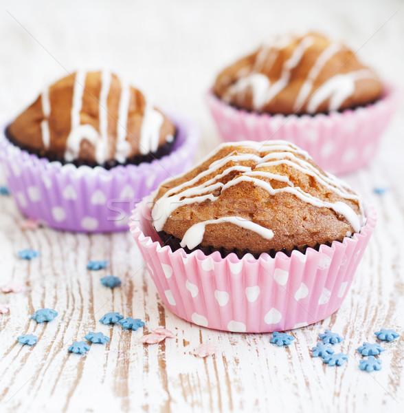 Muffins Stock photo © Es75