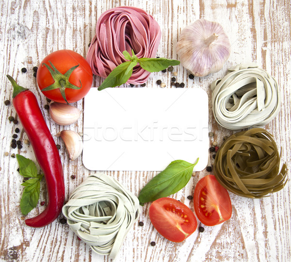 Pasta Stock photo © Es75