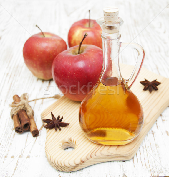 Apple cider vinegar Stock photo © Es75