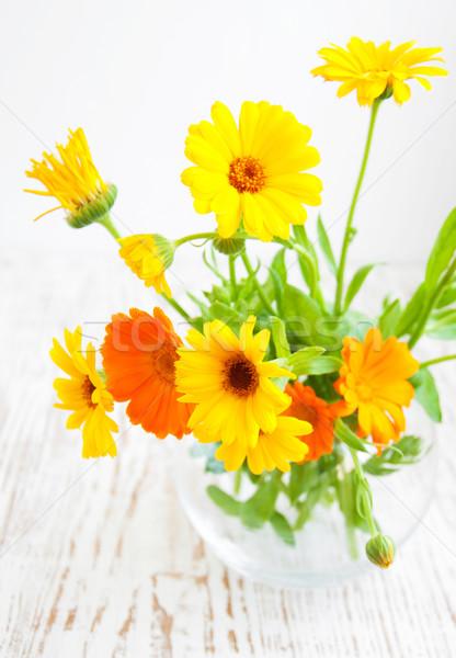 calendula bouquet Stock photo © Es75