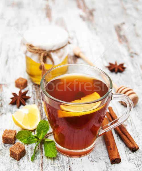 Cup of tea Stock photo © Es75