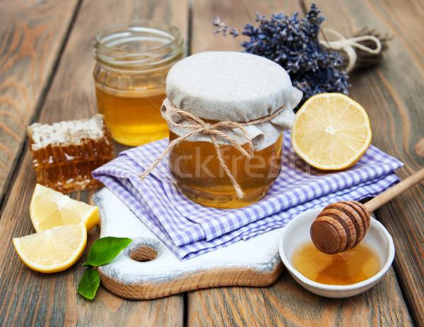honey, lavender  and lemon Stock photo © Es75