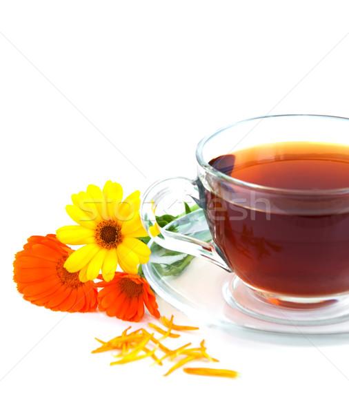 Tea with calendula Stock photo © Es75