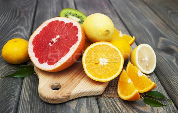 Citrus fruits Stock photo © Es75