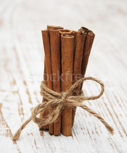Cinnamon sticks Stock photo © Es75
