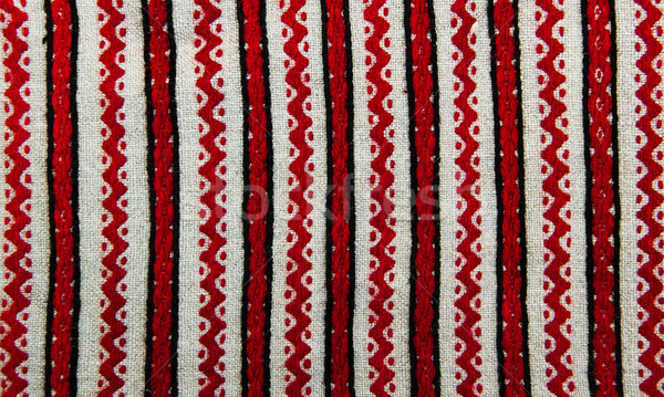 embroidered ethnic pattern Stock photo © Es75
