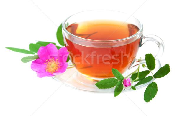 Stock photo: Rose hip tea