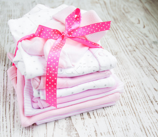 newborn baby clothes Stock photo © Es75