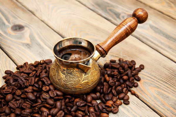 coffee in turk Stock photo © Es75