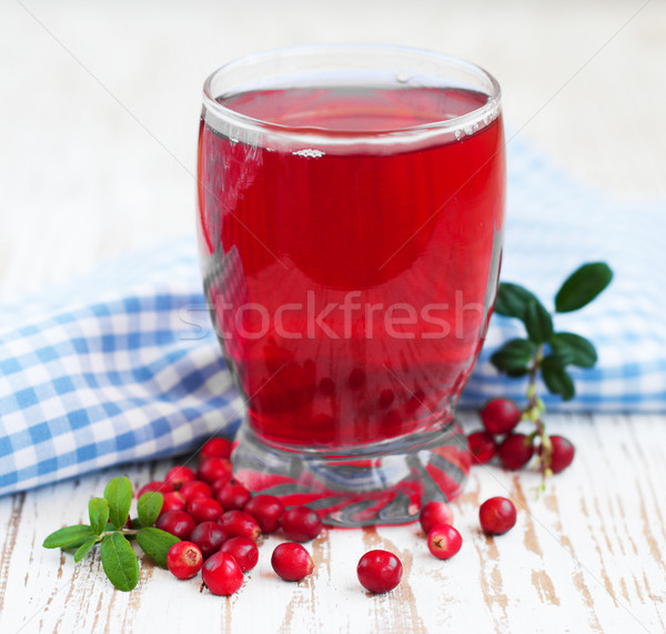 Fruit cranberries drink Stock photo © Es75