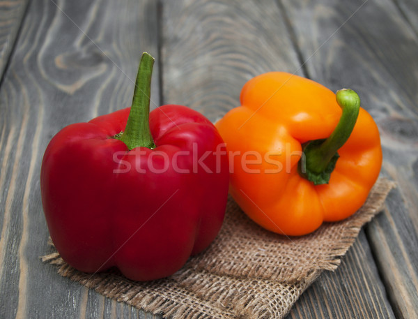 Colorful bell Peppers Stock photo © Es75