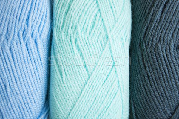 knitting yarn skeins Stock photo © Es75