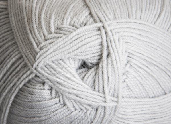 Clew of Woolen Yarn Stock photo © Es75
