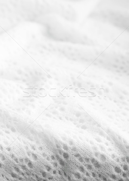 Beautiful white wool patterns Stock photo © Es75