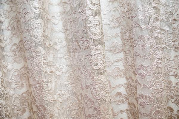Weefsel ontwerp zijde goud mode achtergrond Stockfoto © esatphotography